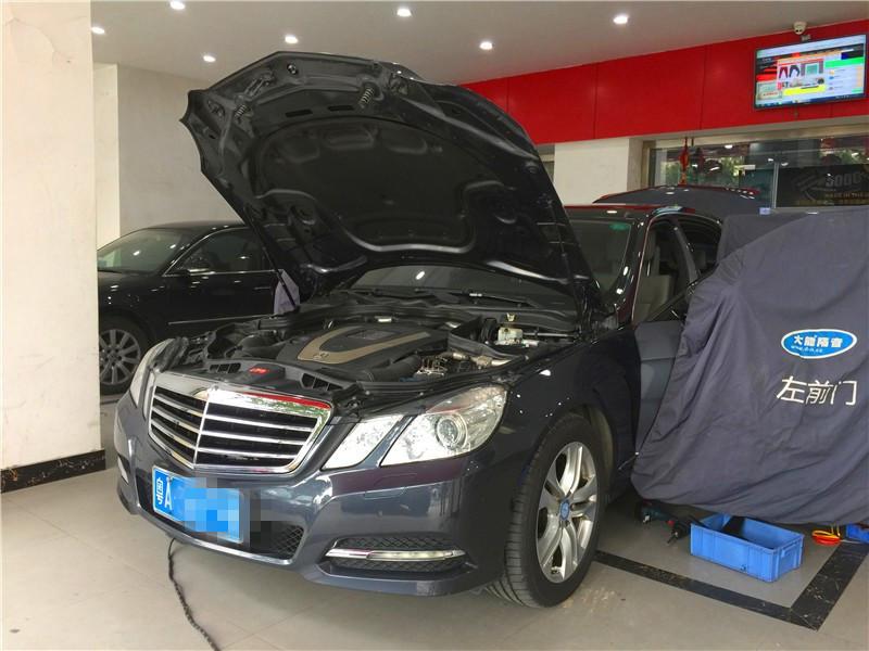 广州德乐汽车音响—奔驰E300改装德国