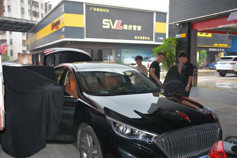 广州红旗汽车隔音升级工程  享受安静的世界