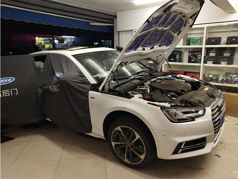 奥迪A4L豪华大能全车隔音降噪工程改