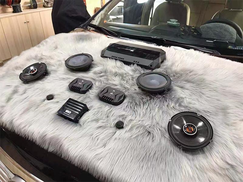 丰田凯美瑞 无损音响改装  隔音升级