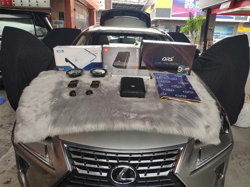 雷克萨斯NX300 音响改装 隔音升级降噪