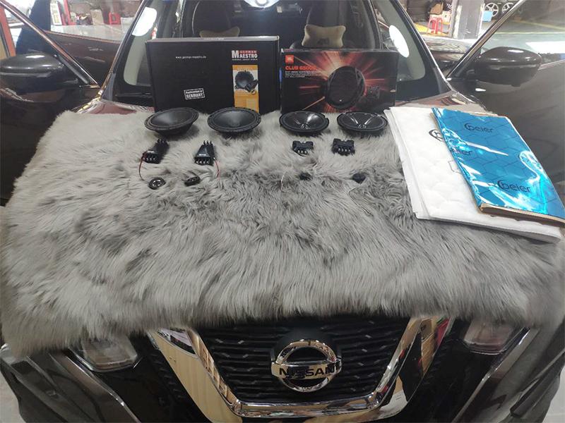 日产楼兰 汽车音响改装升级 隔音升级