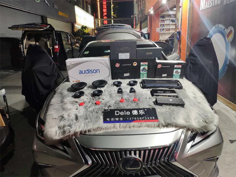 雷克萨斯ES300H 音响改装升级 人声的巅峰