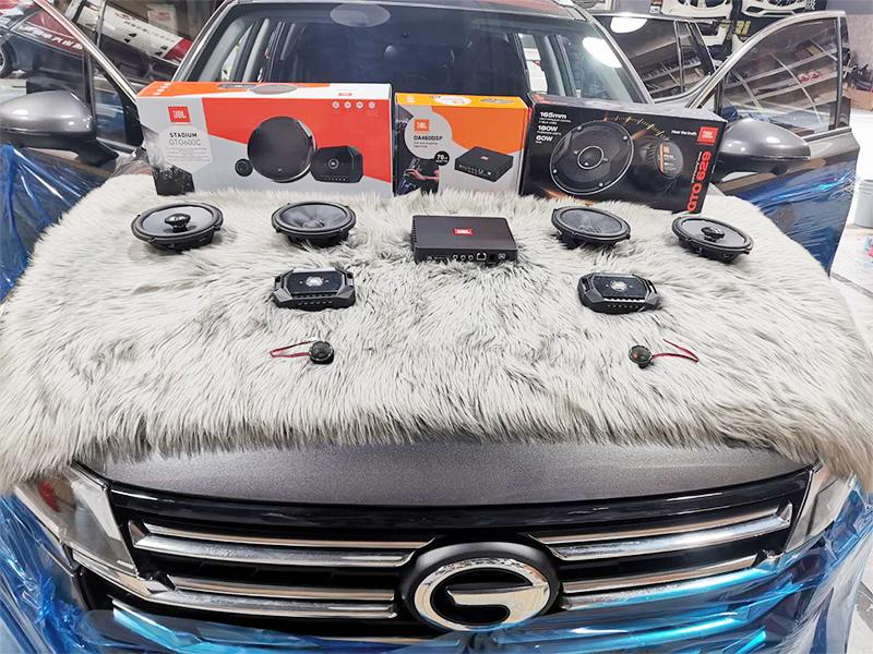 传祺GS4 音响改装升级 隔音降噪