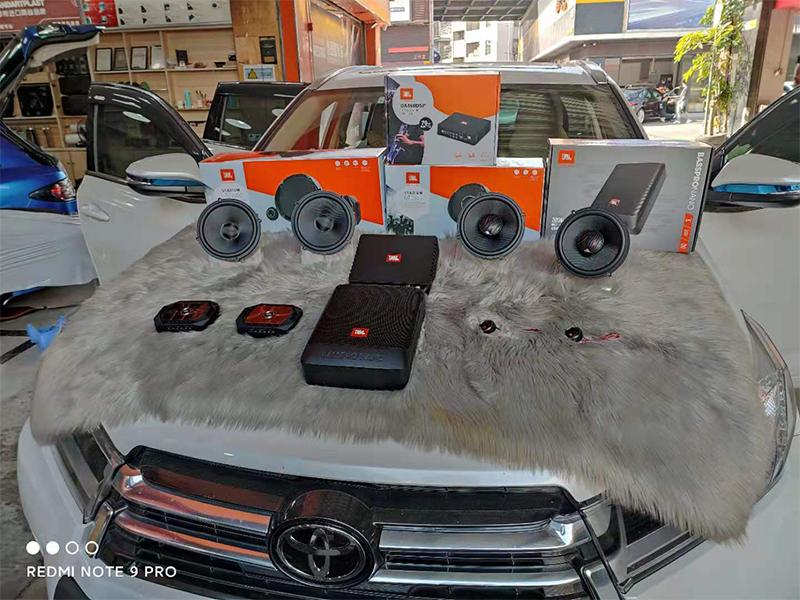丰田汉兰达升级原车音响,音质就很好