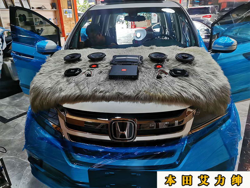 本田艾力绅做了全车隔音,噪音真的少了不少