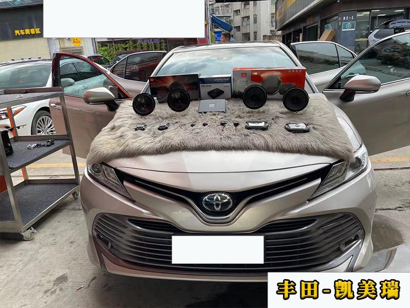 丰田凯美瑞升级原车喇叭